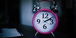 good sleep hygiene: avoid looking at the clock
