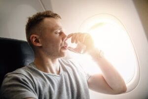 Drink Water to Prevent Jetlag - Simply Good Sleep
