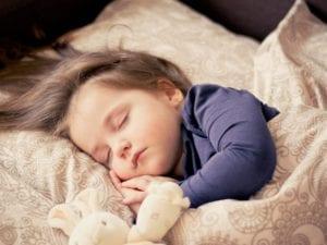simply good sleep: photo of child sleeping