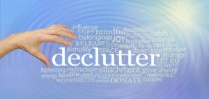 Cluster of Concept Words Associated with the Word Declutter