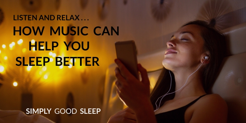 Listening to Music Before Going to Sleep