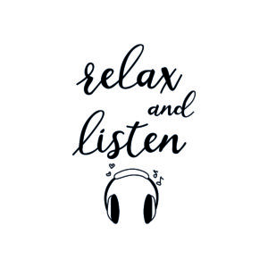 relax and listen to music at bedtime for sleep