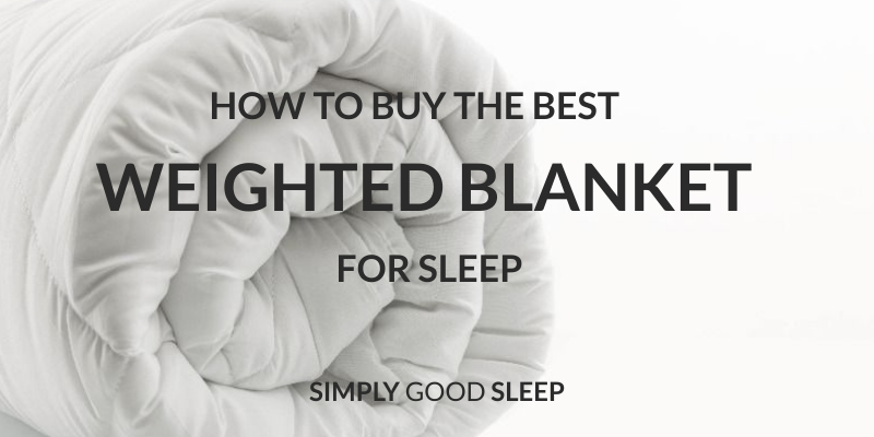 Simply Good Sleep Weighted Blanket