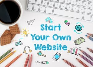 Start Your Own Website - Ad Banner on Simply Good Sleep