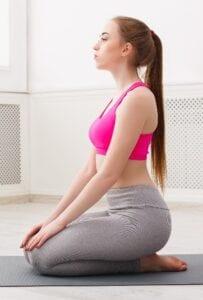Hero Pose (Virasana) in Yoga for Sleep, Insomnia, or Deep Relaxation - Simply Good Sleep