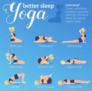 Top 9 Yoga Poses for Better Sleep - Simply Good Sleep