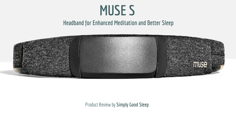 Frontview of the Muse S Headband