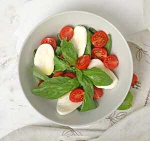 Caprese Salad Bedtime Snack for Better Sleep