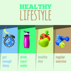 Four Components to Weight Loss and a Healthy Lifestyle - Simply Good Sleep
