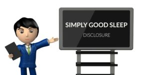 Simply Good Sleep Disclosure