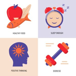 Sleep is as Important as Healthy Food, Exercise, and Positive Thinking in Weight Loss - Simply Good Sleep