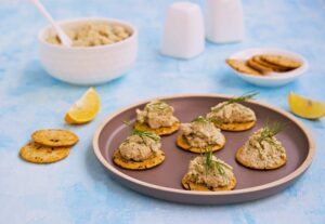 Tuna Canape Bedtime Snack for Better Sleep