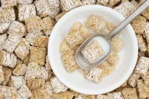Whole-Grain Cereal with Milk Bedtime Snack for Better Sleep