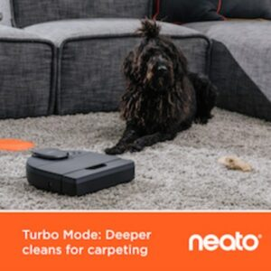 Neato Robotic Vacuum Deep Cleans Carpets - Product Review by Simply Good Sleep