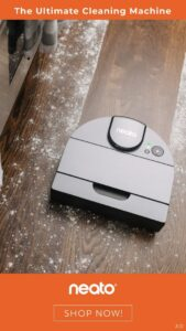 The Ultimate Cleaning Machine - Neato Robotic Vacuum - Product Review by Simply Good Sleep