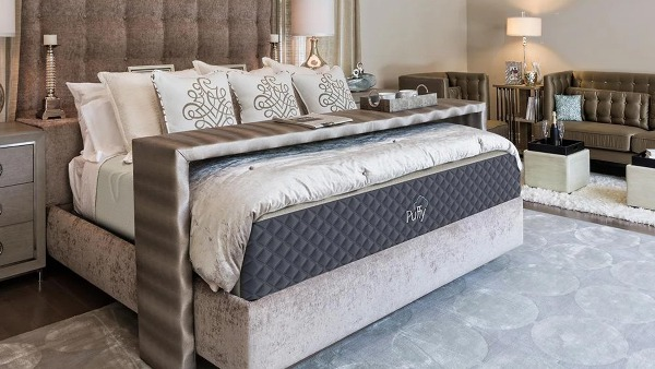 Puffy Mattress or Puffy Lux Mattress in a Bedroom